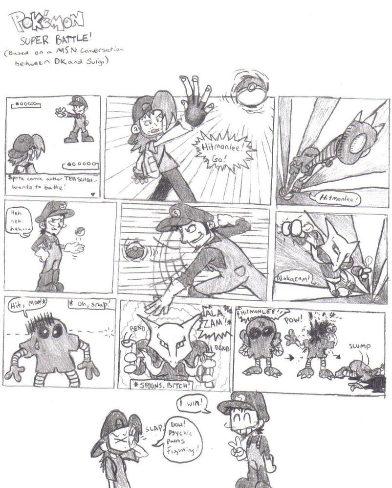 Pokemon Super Battle by DairyKing
