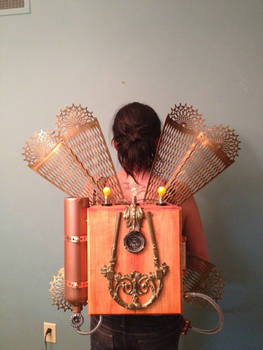 Steampunk Dragonfly Jet Pack