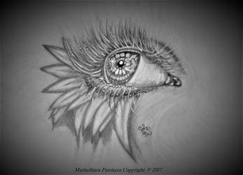 Occhio fiorito