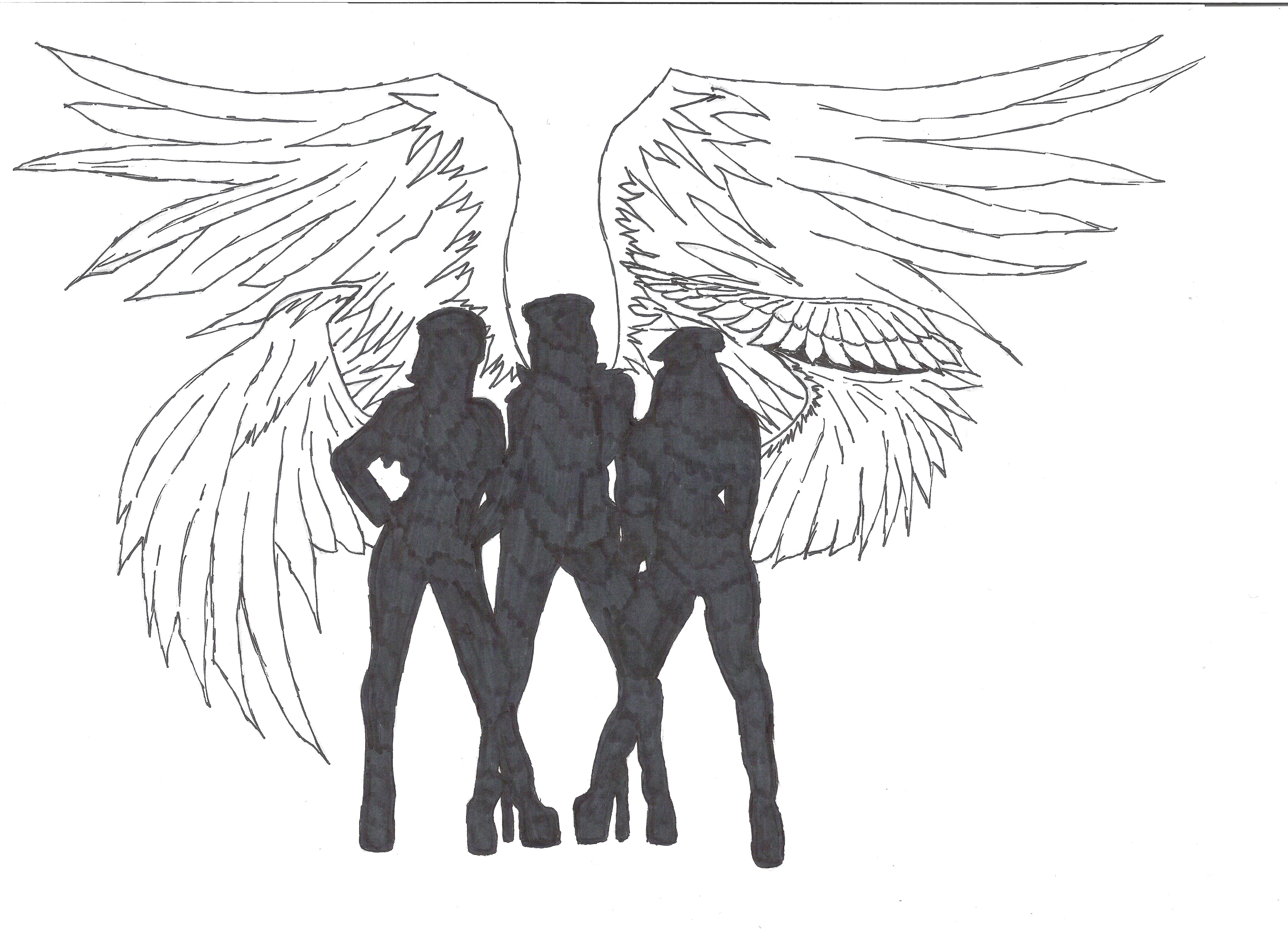 charlie u0027s angels revamped by twipurplequeen18 on deviantart