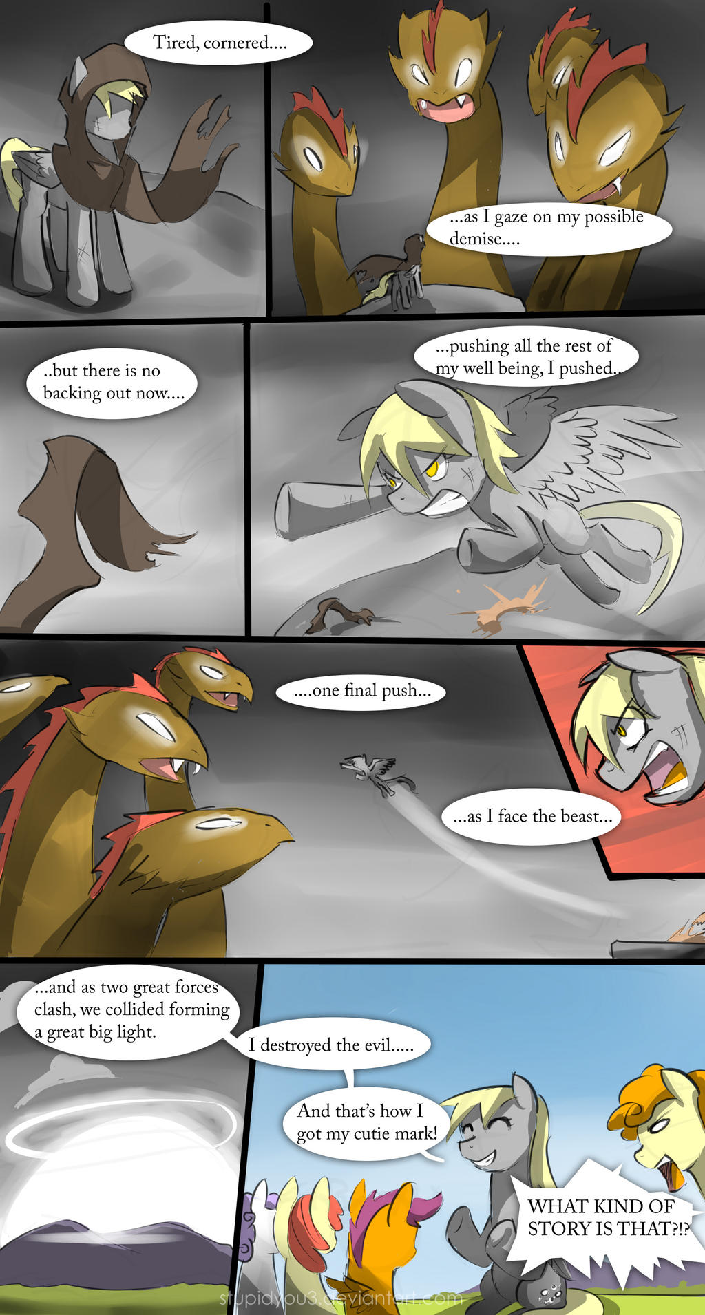 The Legend of Derpy... by stupidyou3