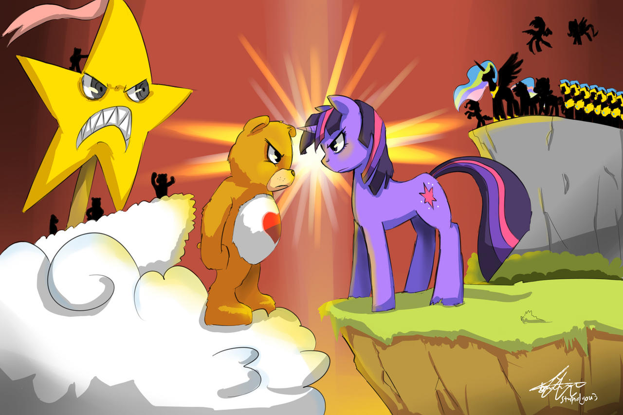 The Great Battle..... by stupidyou3