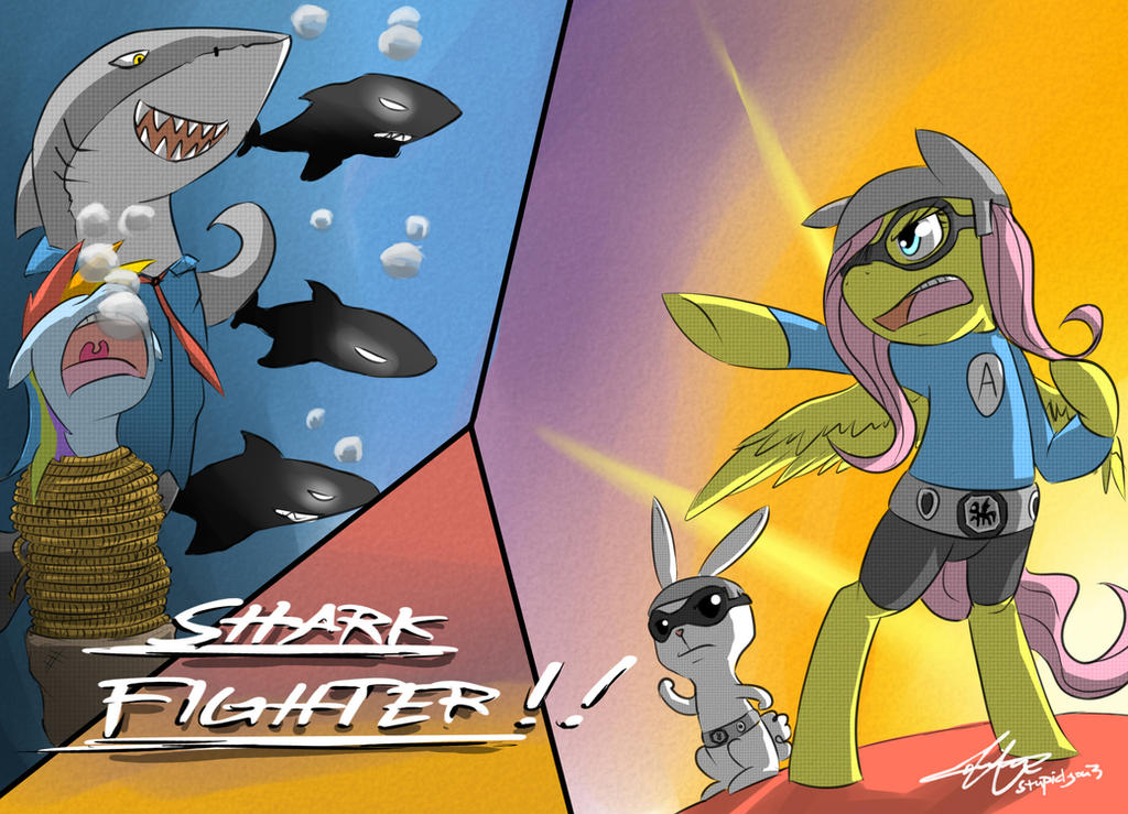 Shark Fighter by stupidyou3