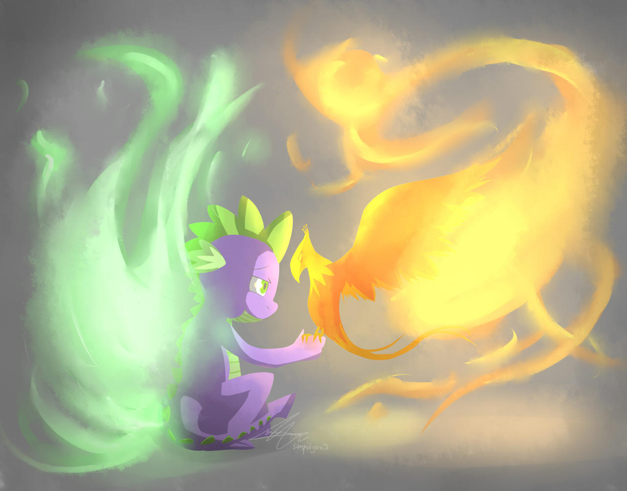 Born from fire. by stupidyou3