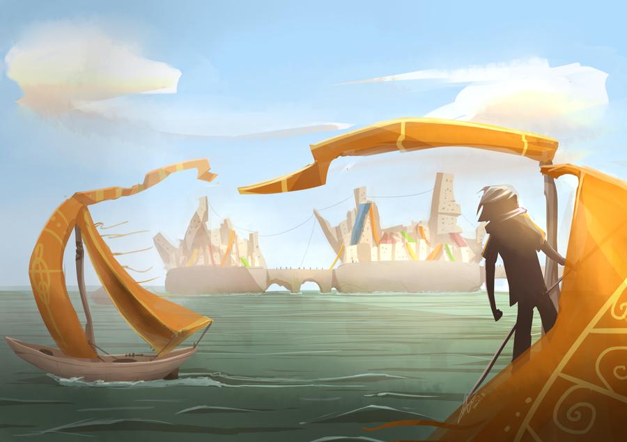 The Harbors of Zedia by stupidyou3 on DeviantArt