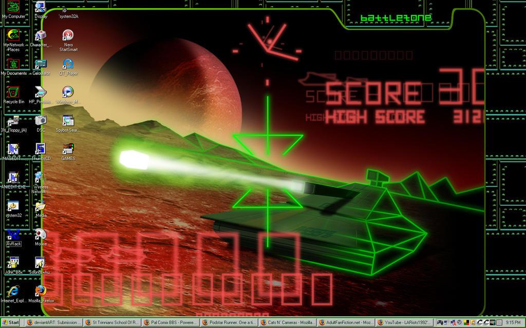Battlezone Wallpaper by Jake-Brake