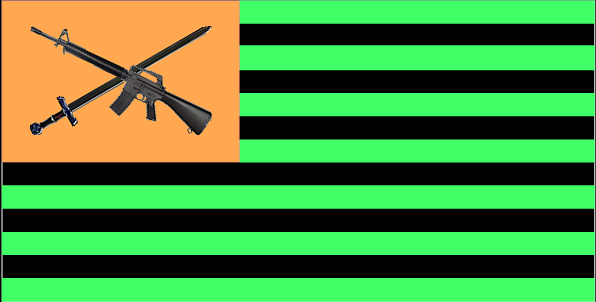 National Flag of Grungerock by Jake-Brake