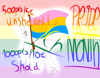 Pride Month - YCH (OPEN) by gaelle006