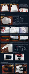Schoolgirl Uniform Tutorial - Kagome Higurashi. by neptunyan
