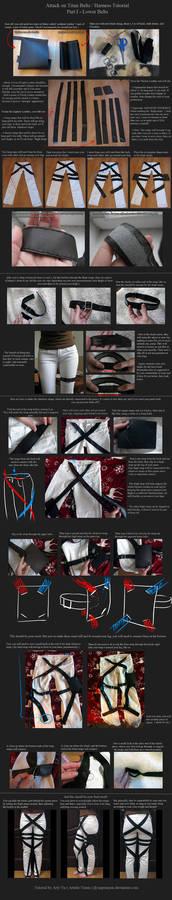 Attack on Titan Belts / Harness Tutorial - Part 1