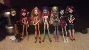 My Create A Monster Dolls