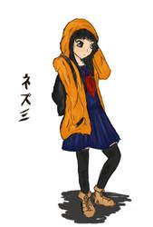 Nezumi by LadyChibiRuki