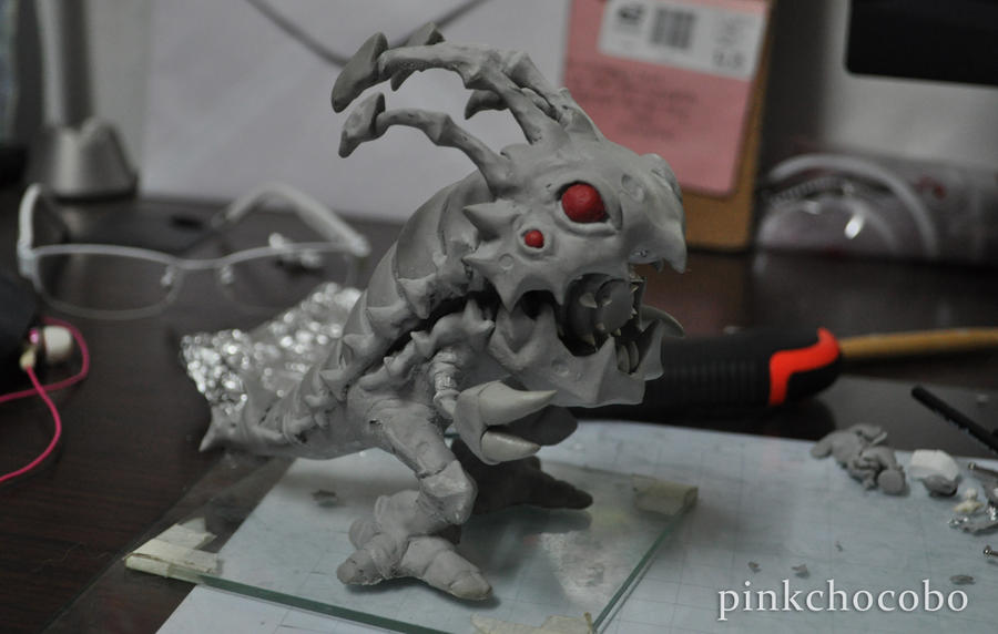 Kog'maw Sculpture by chinggay
