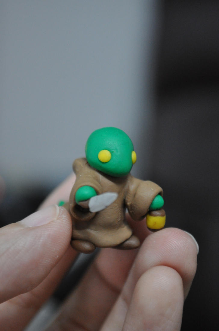Tonberry Mini Sculpture by chinggay
