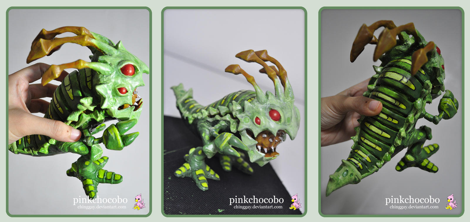 Caterpillar Kog'maw Sculpture by chinggay