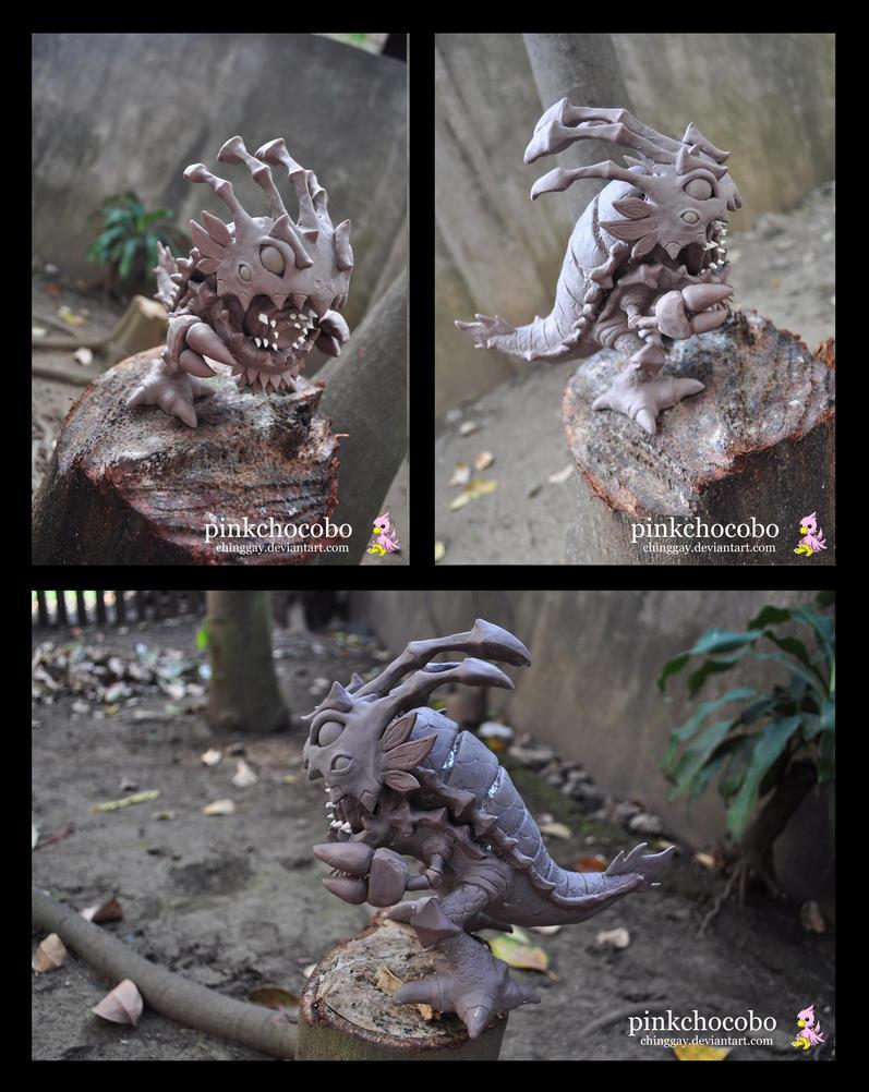 Lion Dance Kog'maw by chinggay