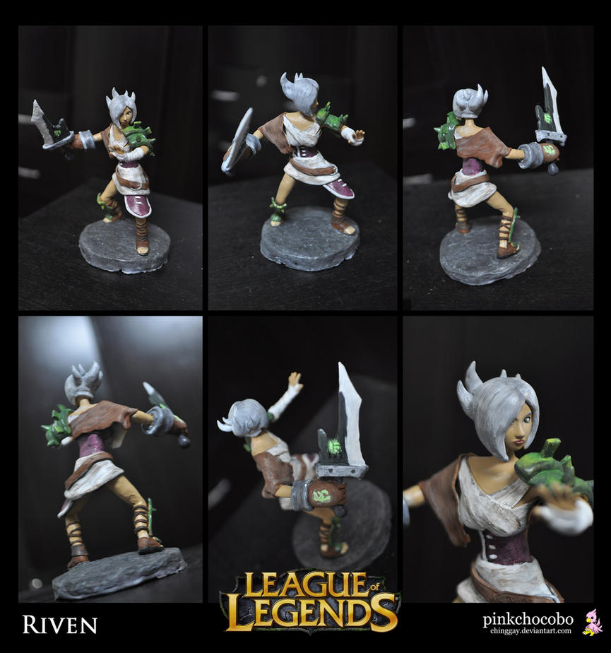 Riven Sculpture by chinggay