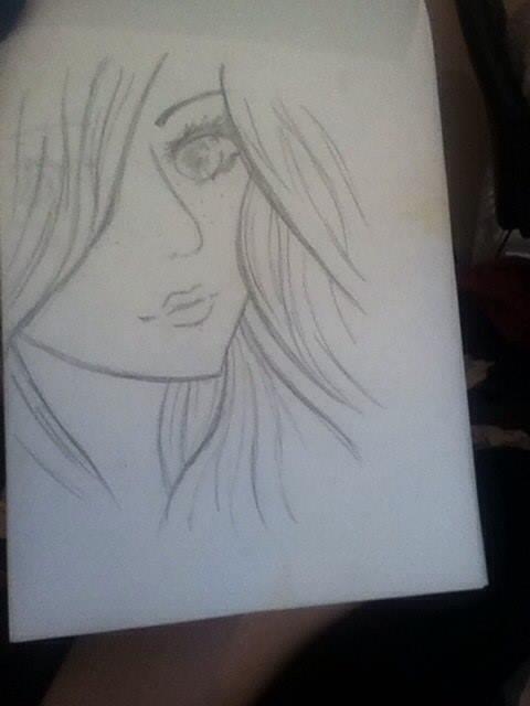 Me as anime by Hannah-Loix