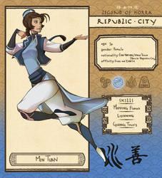 Republic City: Min Tuan by Adcacai