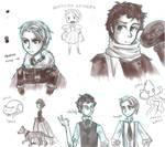 Leviathan doodles