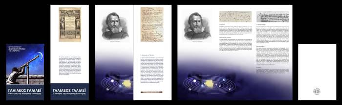 Museum Leaflet: Galileo Galilei by UmbrellaFighter