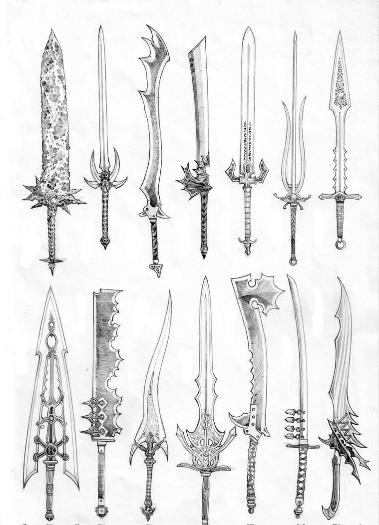 swords of pantheron ii  by anoccomir on deviantart