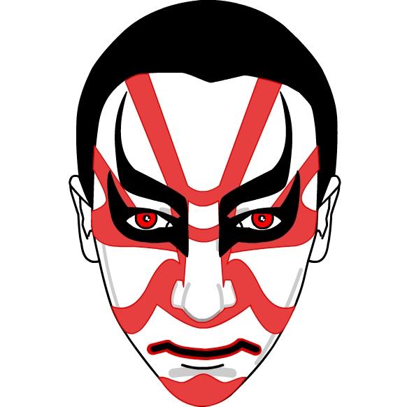 Kabuki face