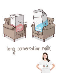 Long conversation milk