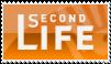 Second Life Orange Stamp by paincanvas