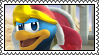 King dedede Stamp by HoshiiNoMaki