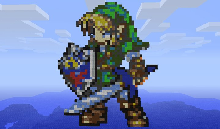 [Immagine: link___legend_of_zelda____minecraft_by_c...65xeds.jpg]