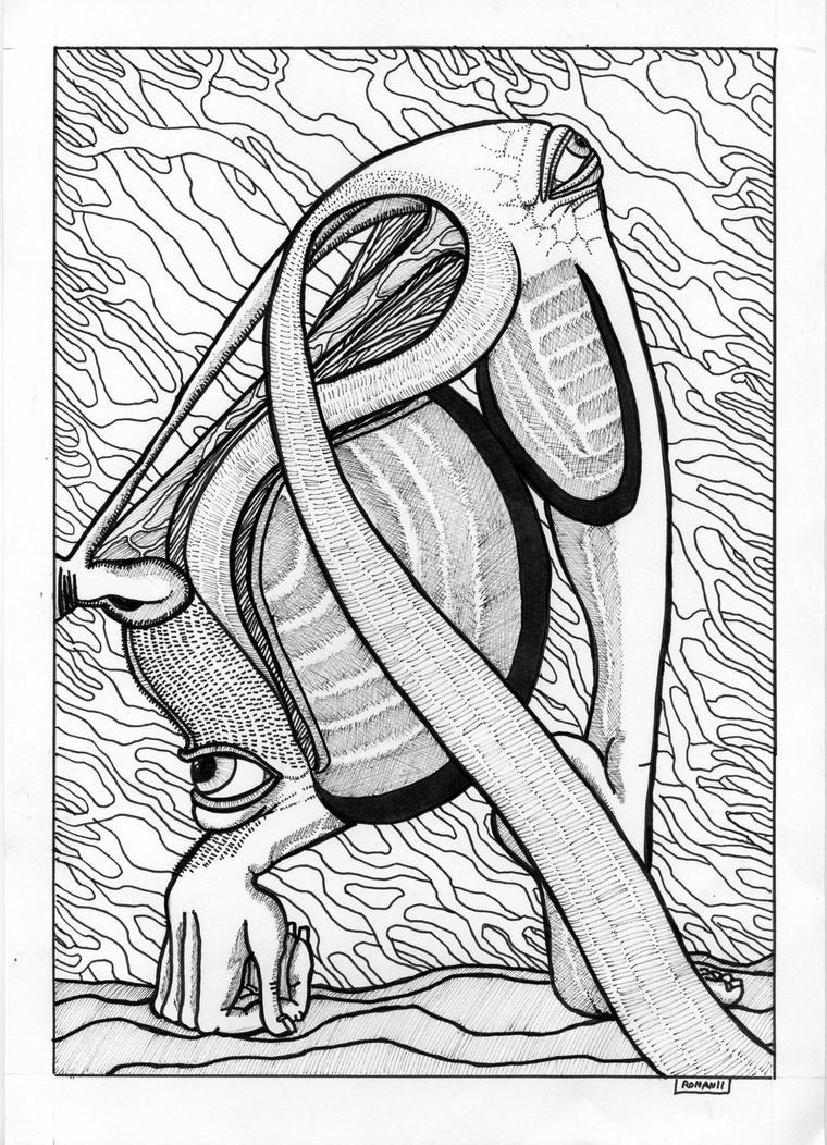 wyrd creature by crowleyronan