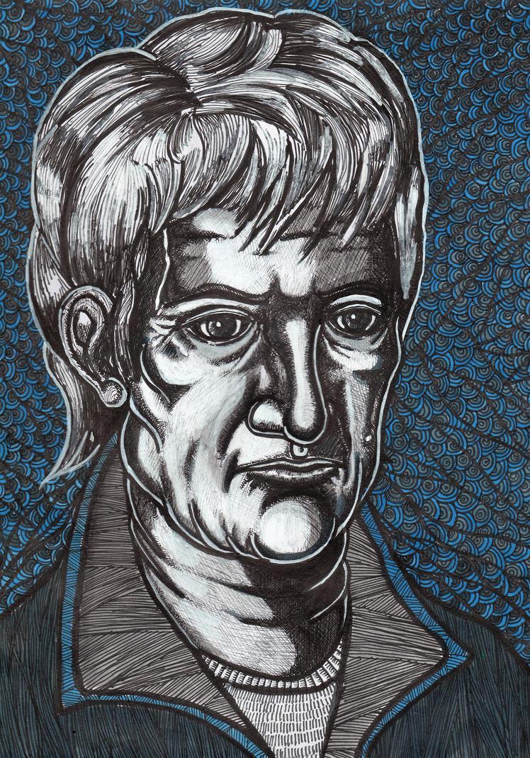 portrait by crowleyronan