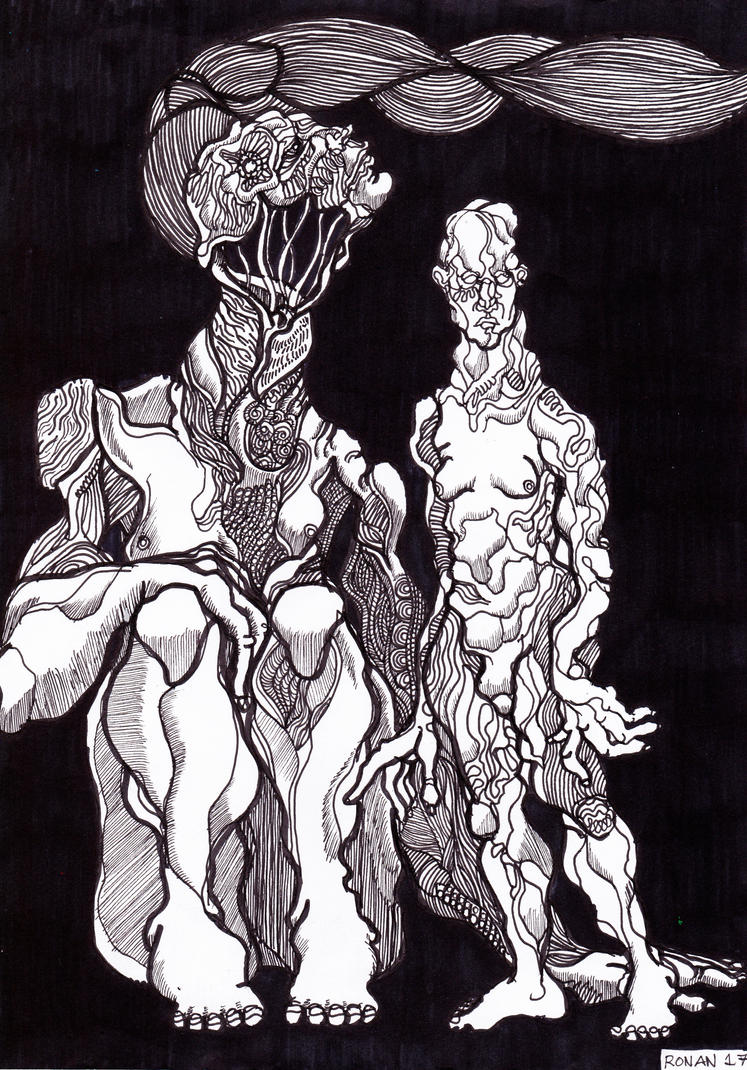 line drawing by crowleyronan