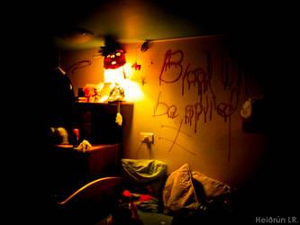 'Halloween' in my room. by ElmarLife