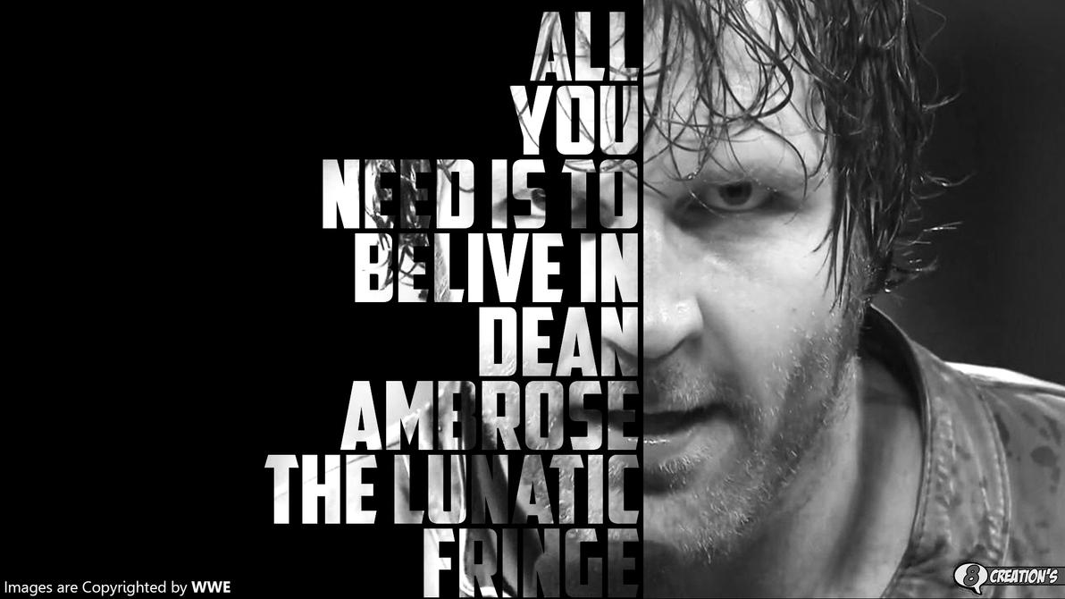 Dean Ambrose Wallpaper By Arunraj1791