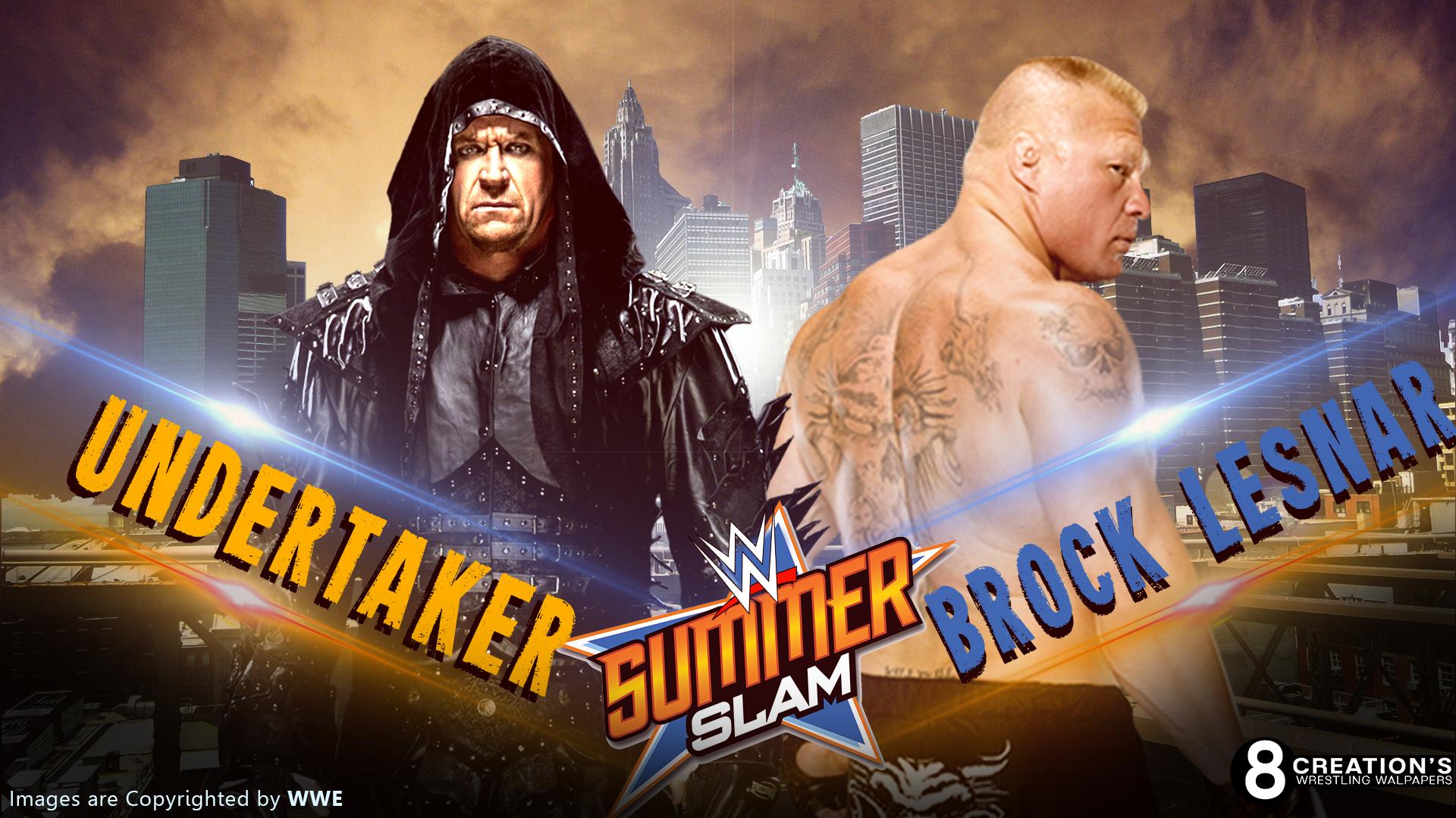 Undertaker Vs Brock Lesnar By Arunraj1791