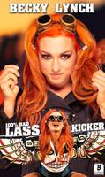 Becky Lynch iphone Wallpaper