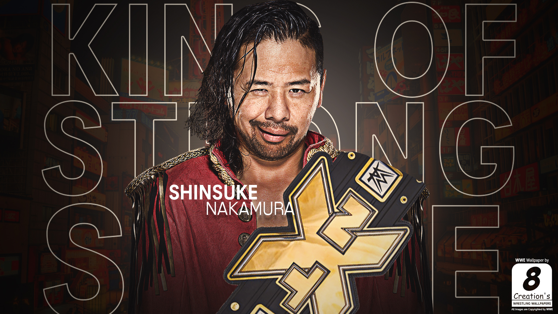 shinsuke nakamura wallpaper by - photo #8
