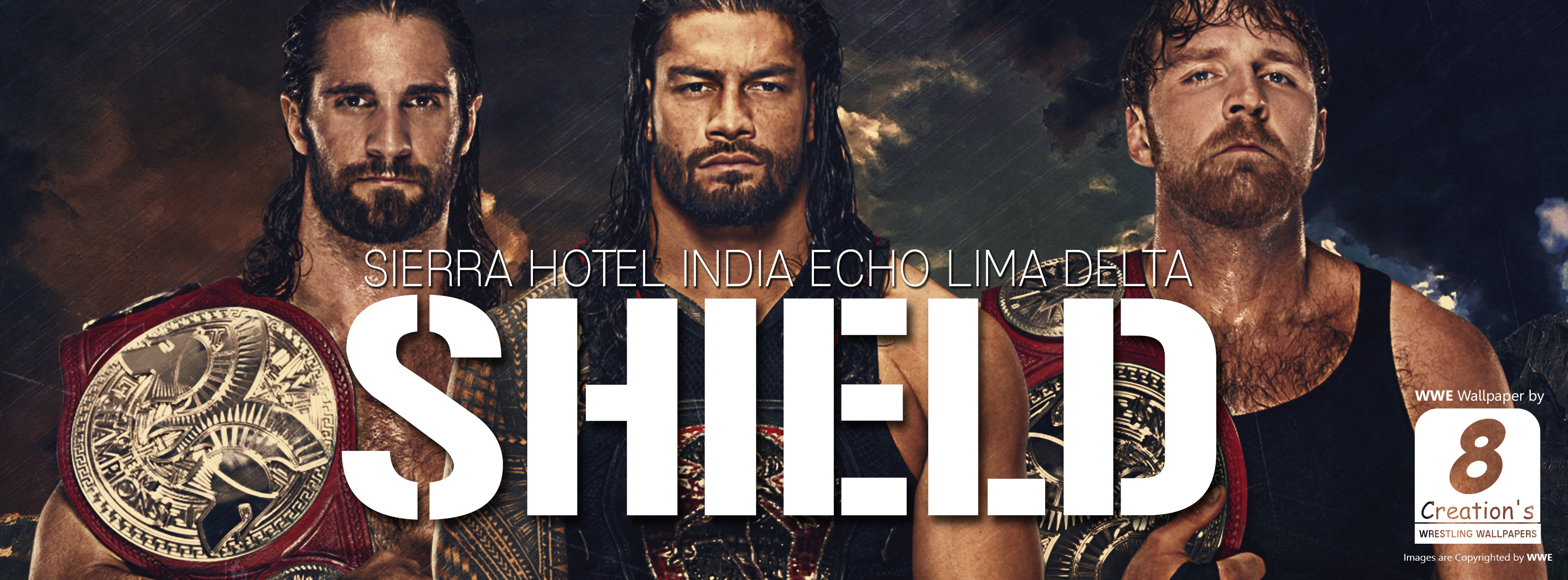 wwe shield 2017 facebook cover photo by arunraj1791 on