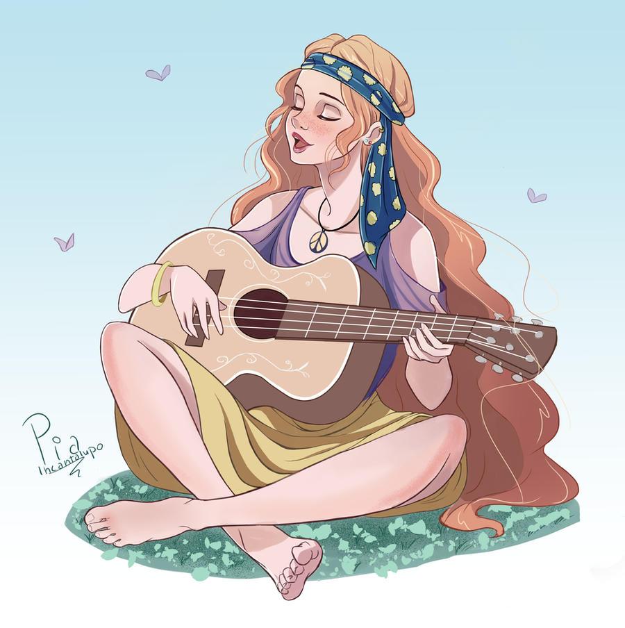 Hippy girl by Ailill90