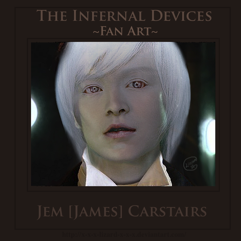 Infernal Devices Fan Art Jem [James] Carstairs by x-X-x ...