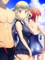 School Swimsuit by ryugujo