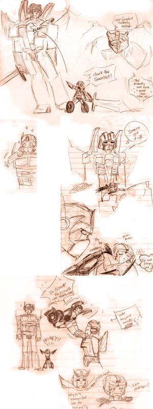 Transformers Sketch Dump 01