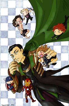 Loki and the Tinyvengers!
