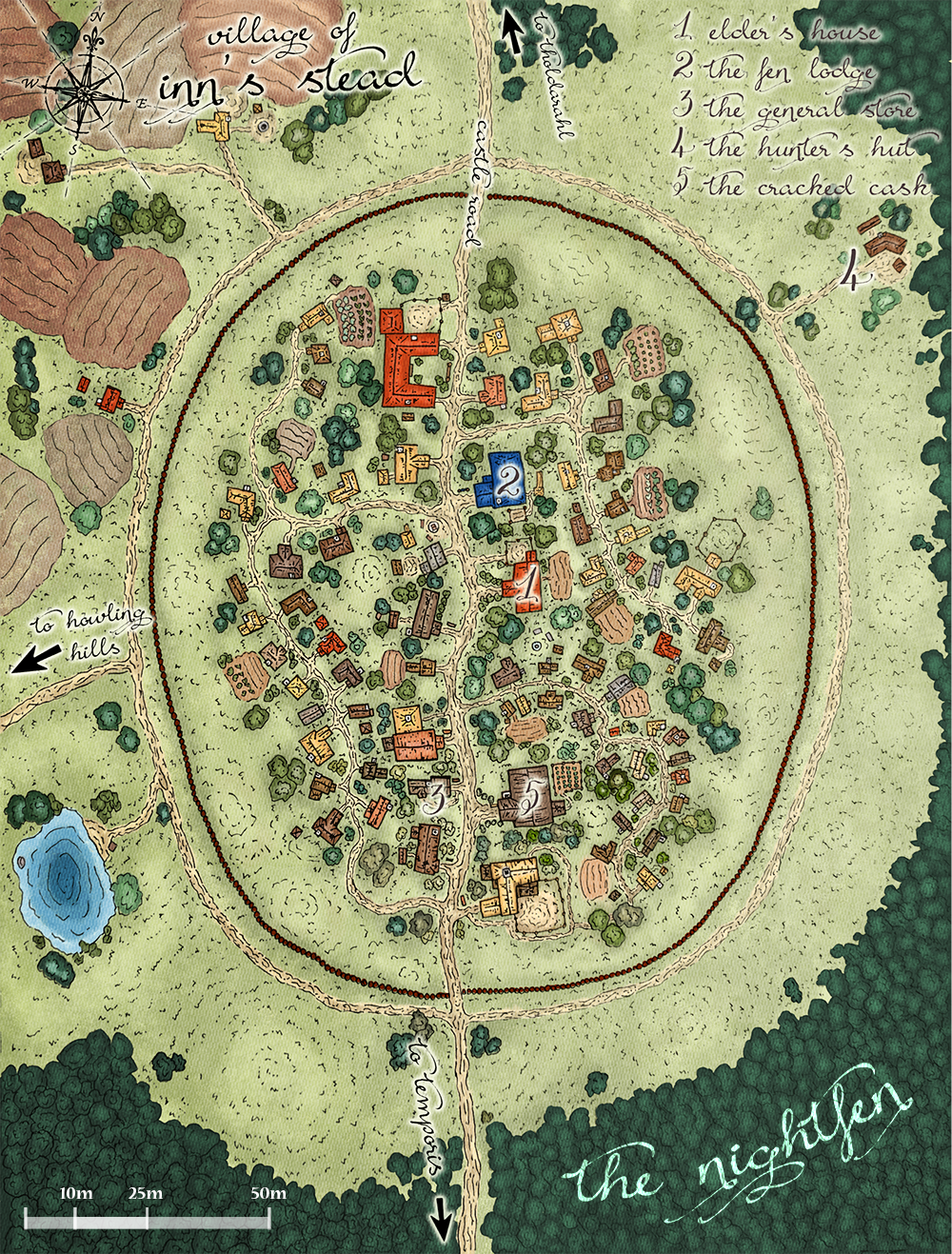 DnD Town Map By Madwing On DeviantArt