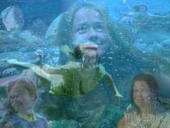 Ocean Girls redux by NeriSiren