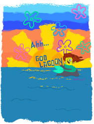 Ahh, Goo Lagoon (Threadless design)