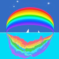Mermaid Rainbow by NeriSiren