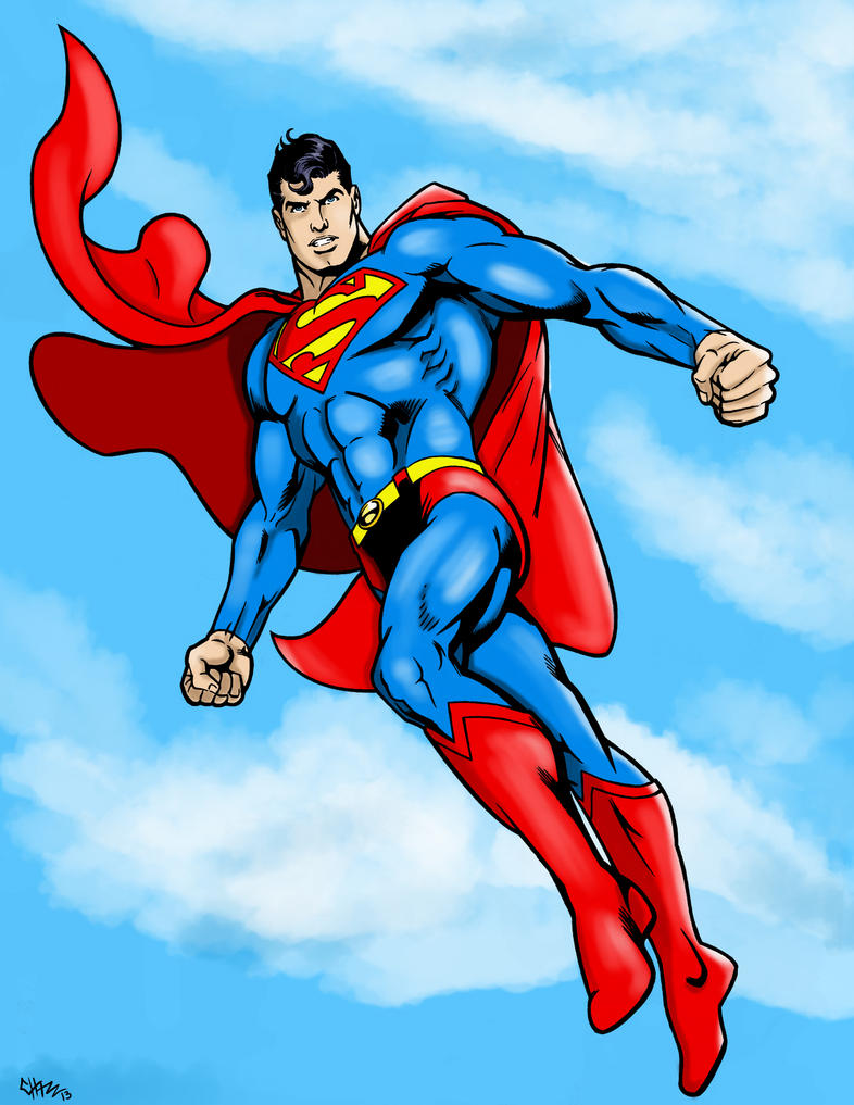 Superman flying by chazzwin on deviantart superman flying by chazzwin publicscrutiny Images
